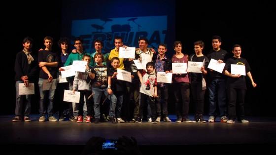 Finalistas CERJUBAT 2014